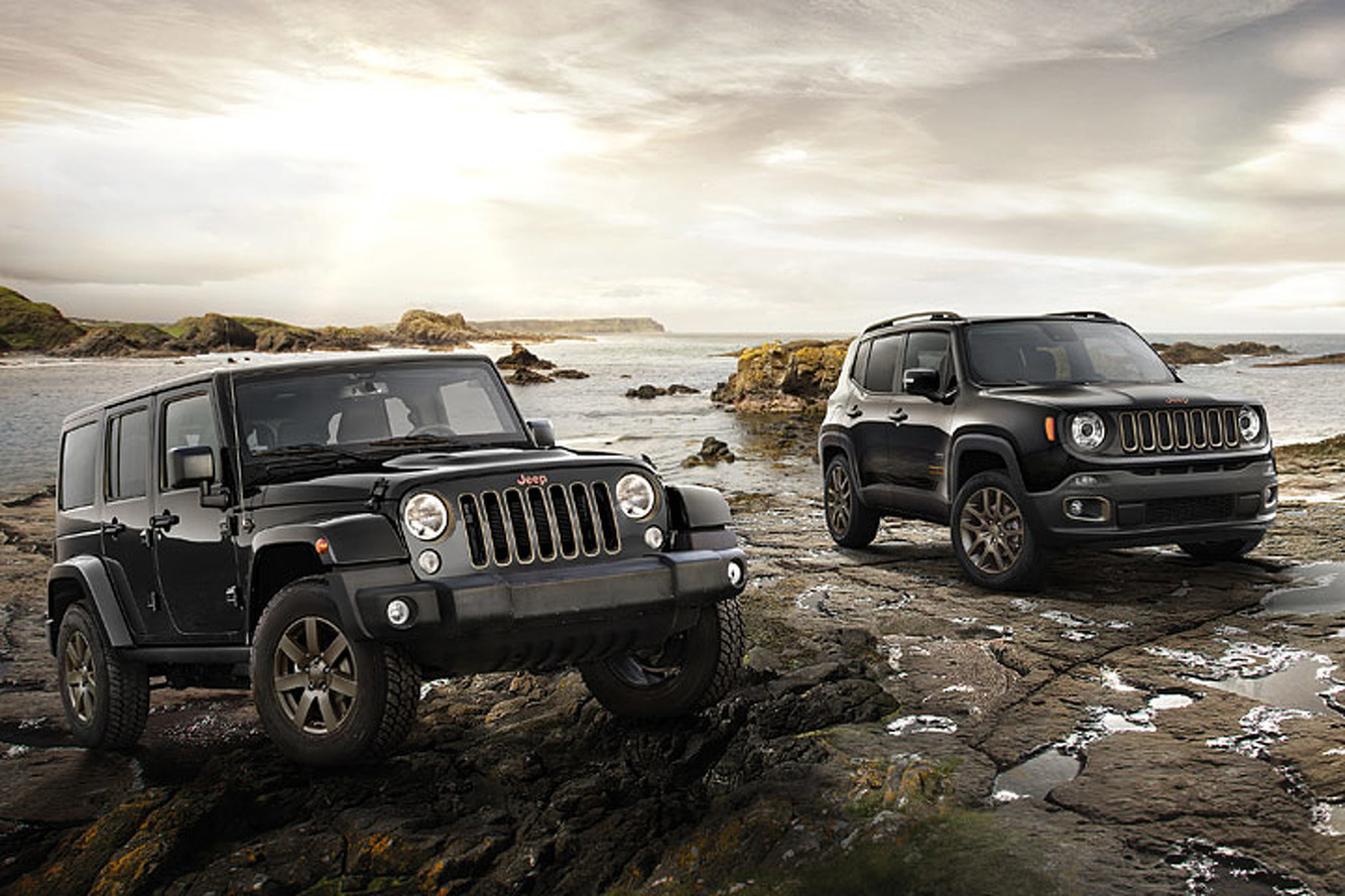 Jeep Rolls Out New European Trims for the 2016 Geneva Motor Show