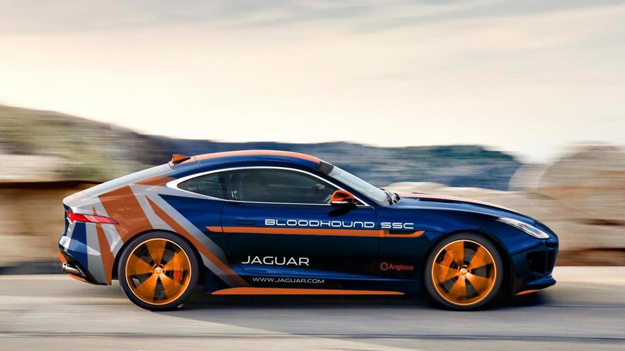 Jaguar F-Type R Bloodhound SSC Rapid Response Vehicle unveiled
