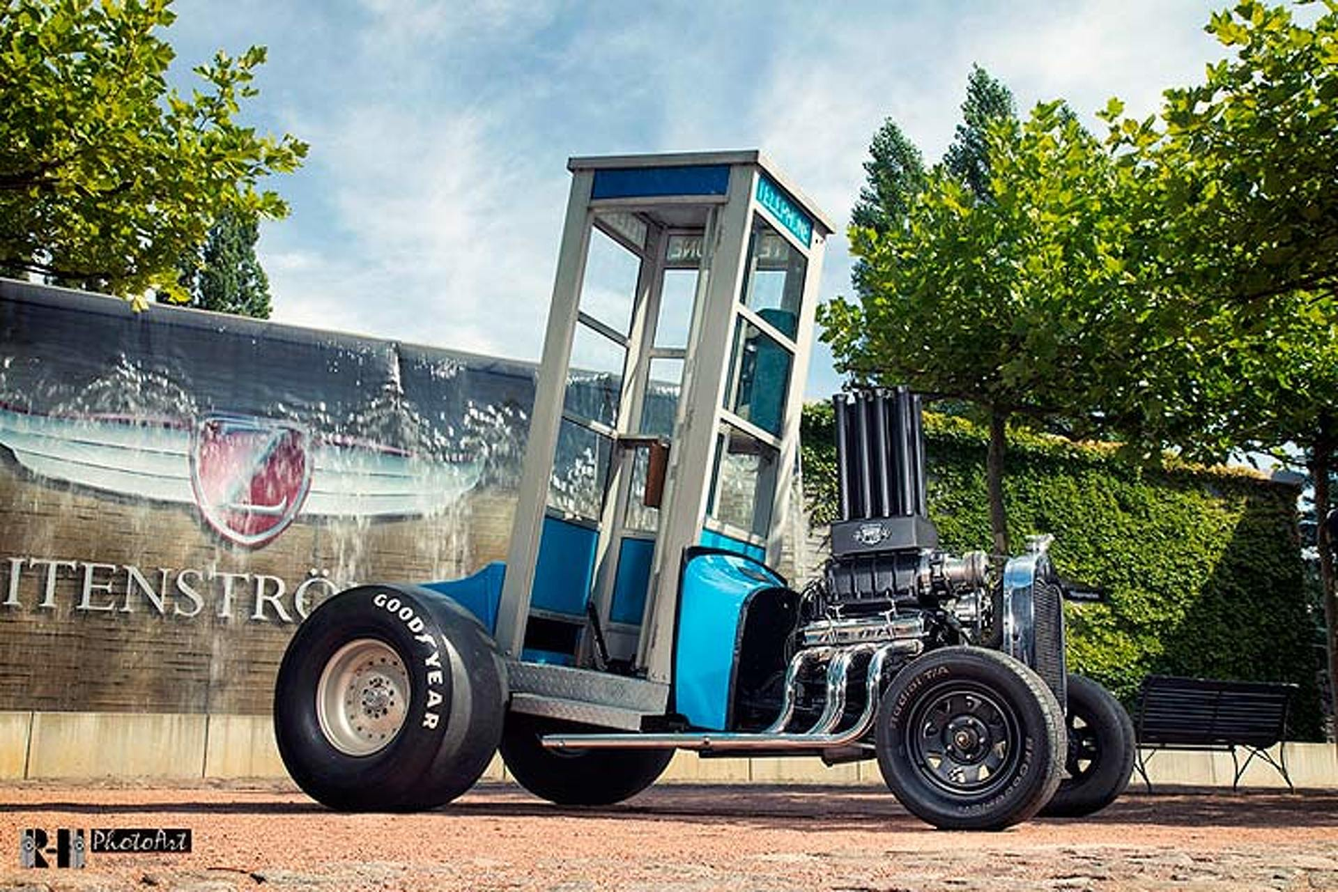 This Ford Hot Rod Might be the World\'s Fastest Phone Booth