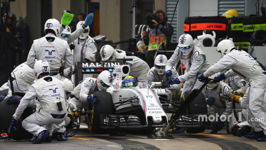 Williams data shows Baku pit stop a new record