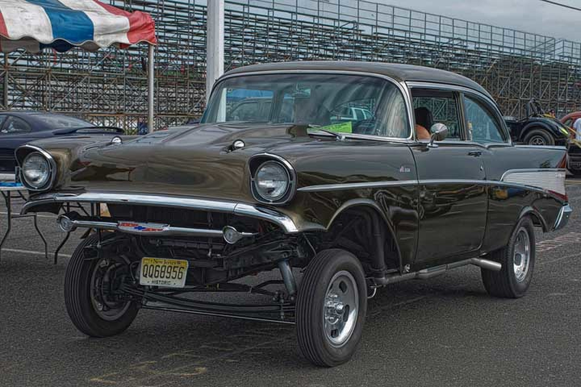 Gasser Race Cars Rumble Into L.A.\'s Automobile Driving Museum
