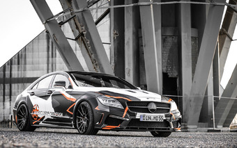 Custom Mercedes-Benz CLS 500 Hides In Plain Sight