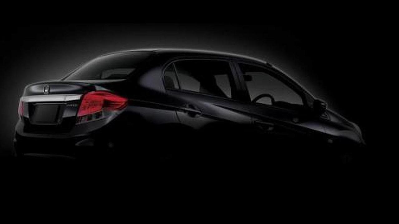 Honda Brio sedan teaser image 26.10.2012