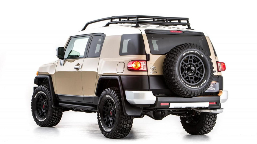 Toyota FJ Cruiser Concept by TRD arriving at 2012 SEMA