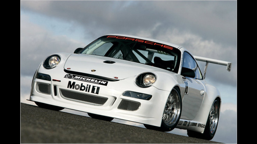 Porsche zeigt den neuen Langstreckenrenner 911 GT3 Cup S