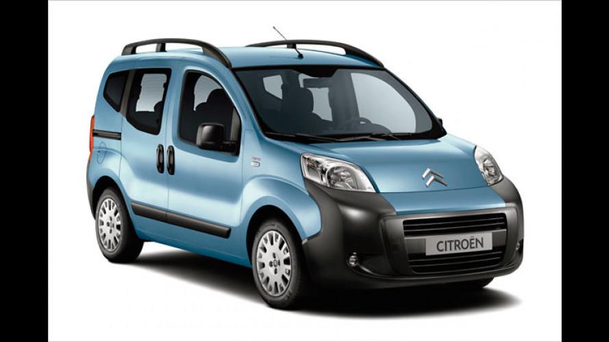 Kleiner Familienfreund: Citroën bringt den Nemo Kombi