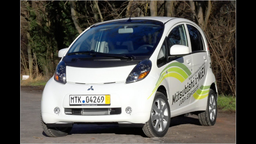 Sauber teuer: Europaversion des Mitsubishi i-MiEV im Test