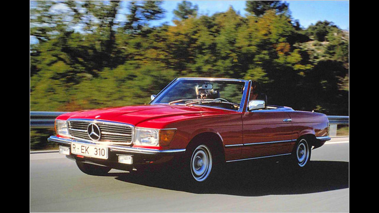 Platz 4: Mercedes SL (Baureihe 107)