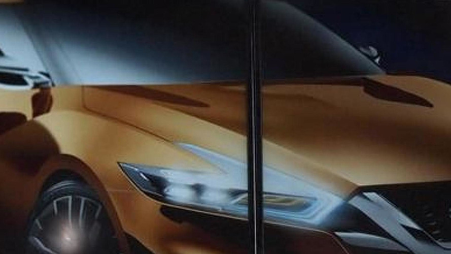 Nissan teases a sporty concept for the Detroit Auto Show