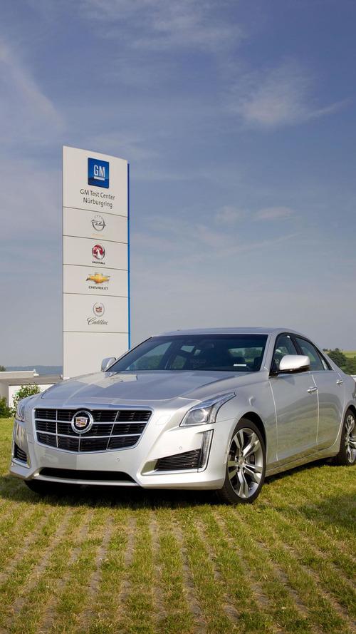2014 Cadillac CTS VSport tackles the Nurburgring [video]