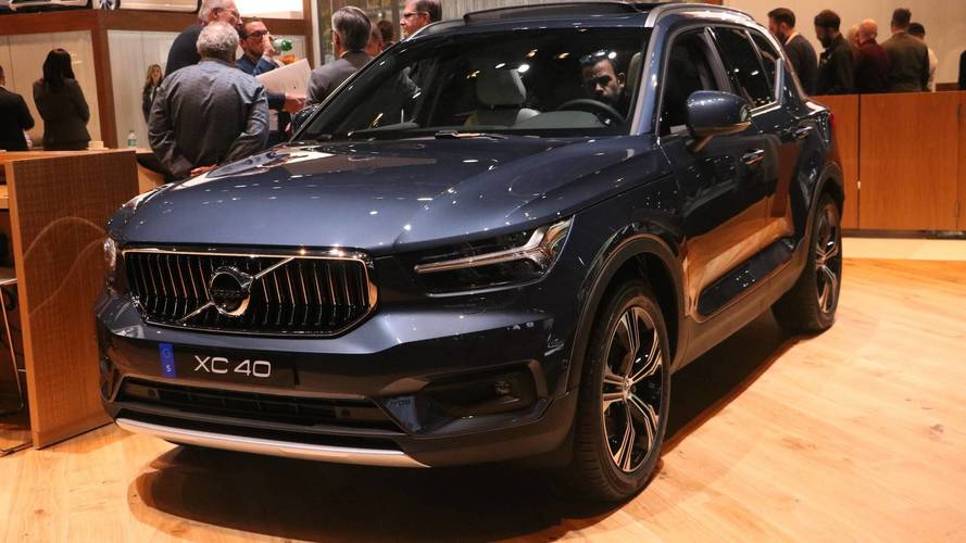 2019 Volvo XC40 Inscription Arrives In New York In Highest Trim