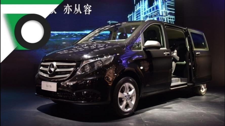 Mercedes Vito alla conquista della Cina