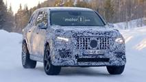 Mercedes-AMG GLS 63 spy photo
