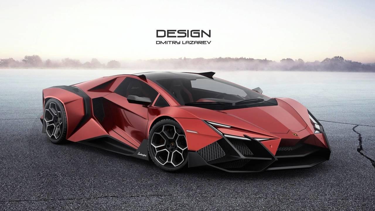 Lamborghini Forsennato Hypercar Concept Motor1 Com Photos