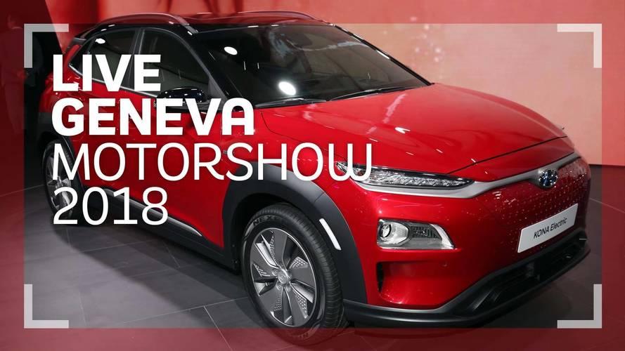 Genève 2018 - Le Hyundai Kona Electric en vidéo