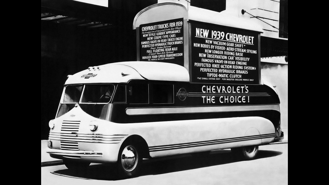 Chevrolet Promotional Van 1937