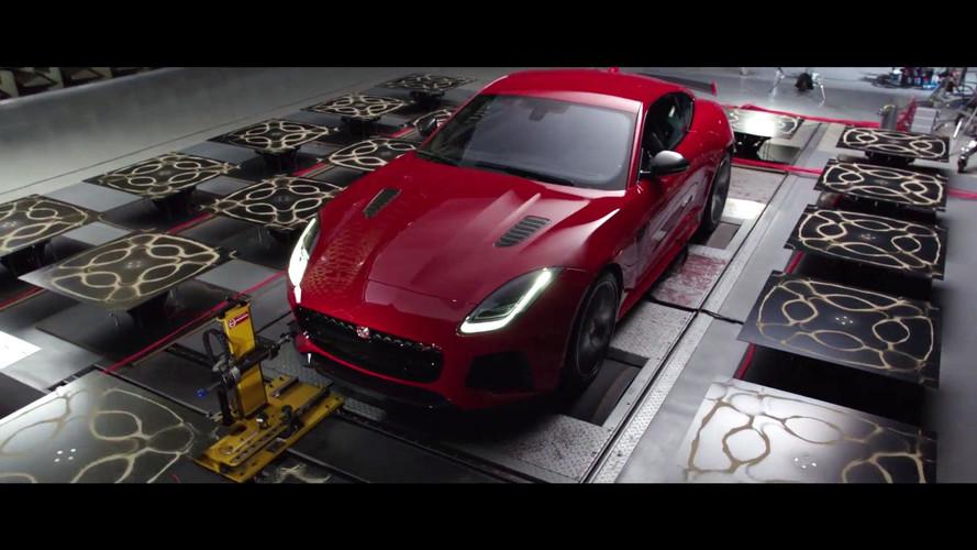 Jaguar F-Type SVR egzoz sesi sanatı