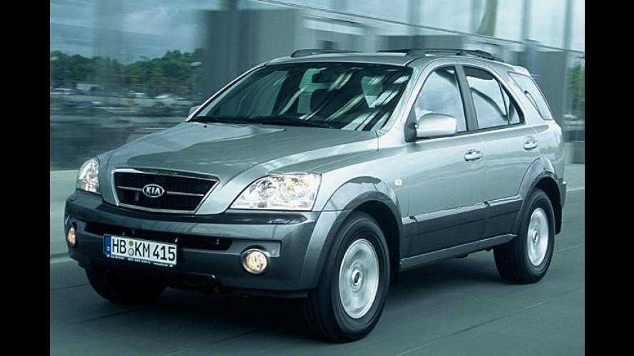 Kia Sorento: Verbesserter Diesel und neue Automatik