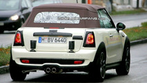 More MINI Cooper S Convertible in White with Brown Top