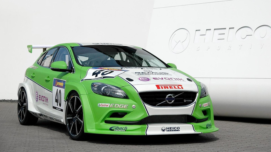 Volvo V40 bio-diesel racecar from Heico Sportiv revealed