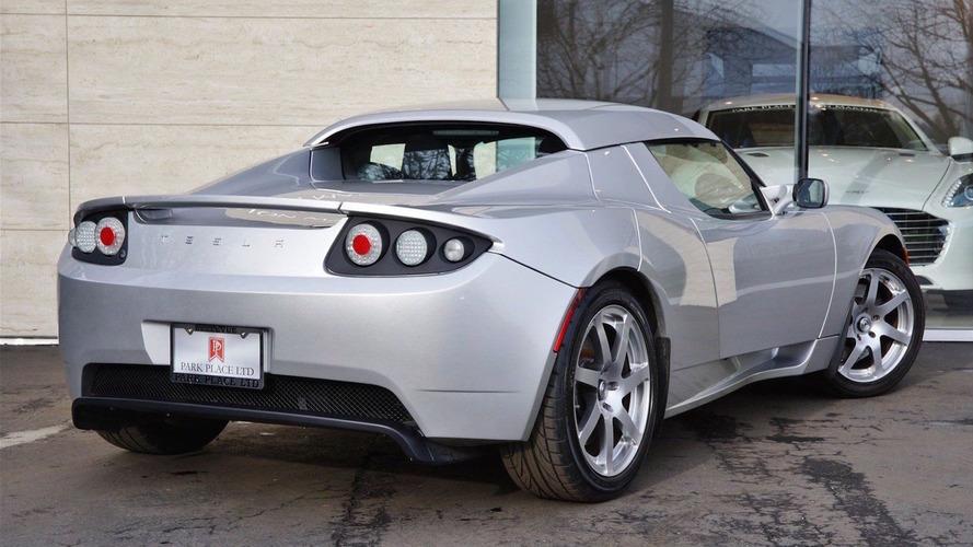 Nadir bulunan Tesla Roadster prototipine ne kadar öderdiniz?
