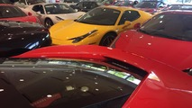 Florida Ferrari dealer packs in exotic cars for Hurricane Matthew