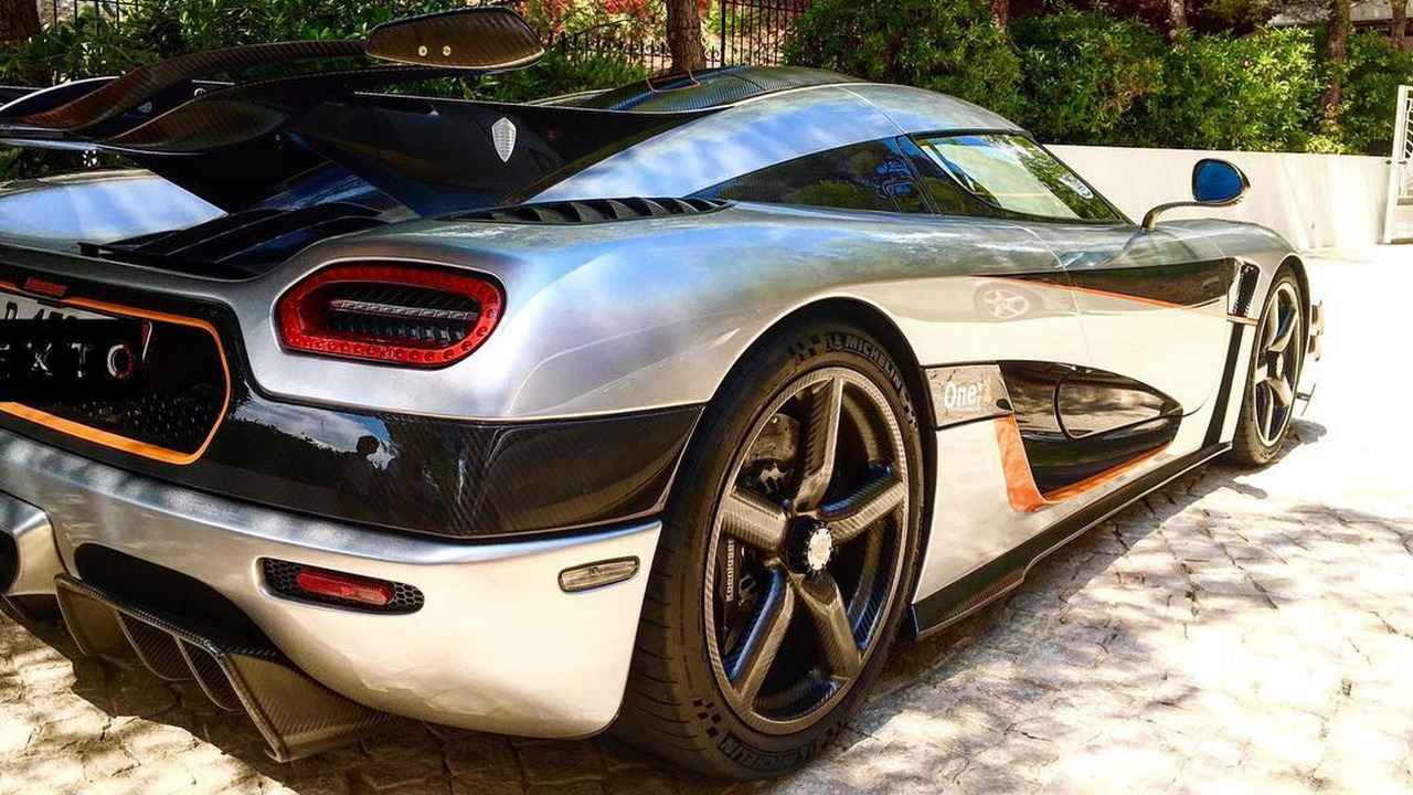 Koenigsegg One:1 in Monaco