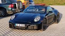 Fotos espía Porsche 911 Cabriolet 2019