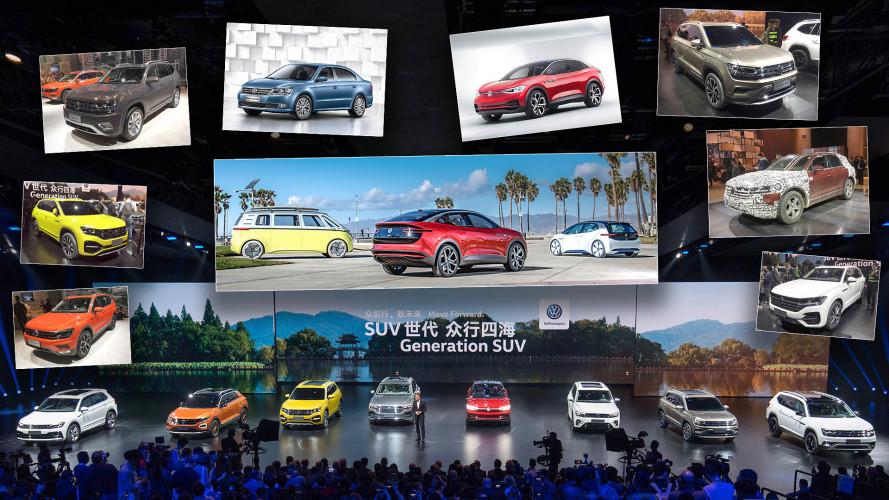 Das war die Weltpremiere des VW Touareg