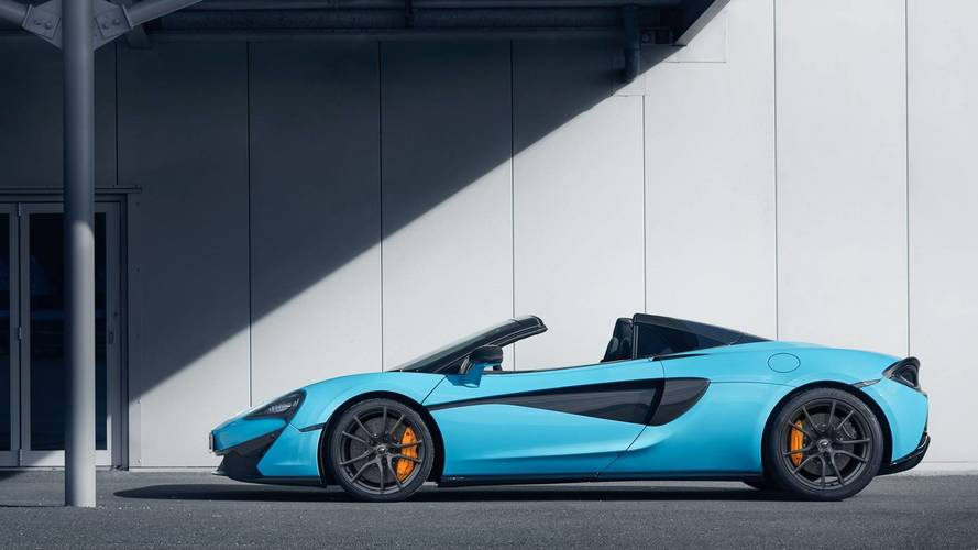 McLaren adds track pack to 570S Spider