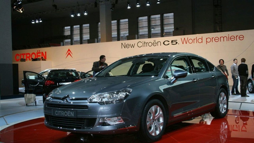 Citroen C5 Public Debut at Brussels