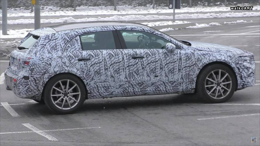 New Mercedes GLA Spied Looking Like An A-Class On Stilts