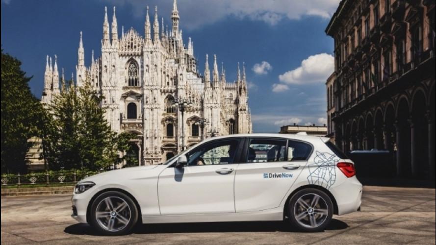 Car sharing DriveNow, l'Italia segna il record europeo