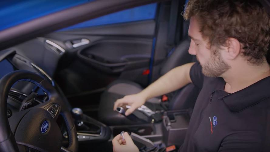 Ford Shows You How To Install The Drift Stick In A Focus RS