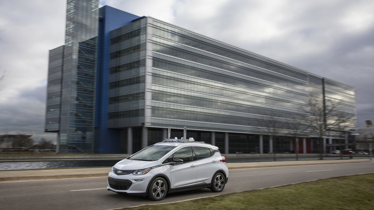 Chevrolet Bolt, guida autonoma