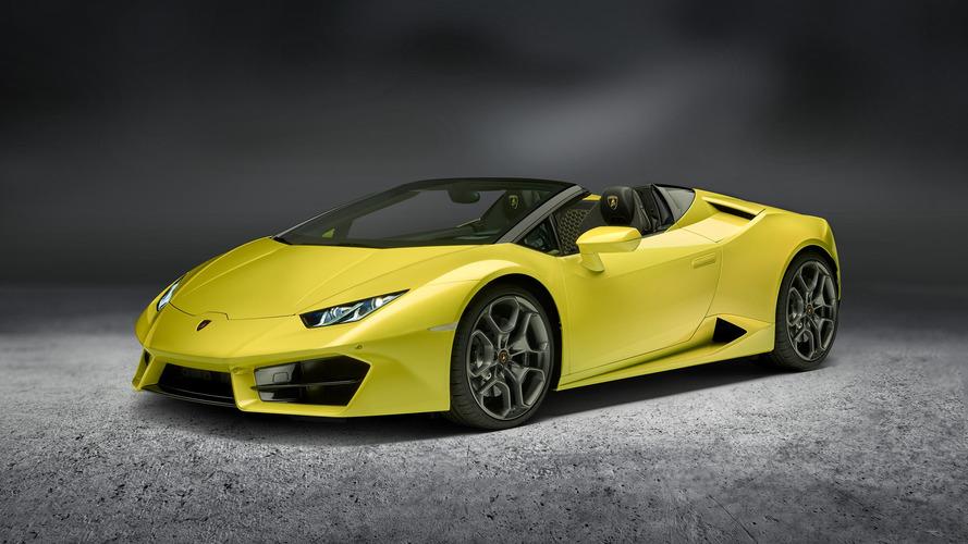 Arkadan çekişli Lamborghini Huracan Spyder 580 bg güç ile tanıtıldı