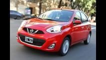Nissan March ganha câmbio automático na Argentina; modelo nacional terá em breve