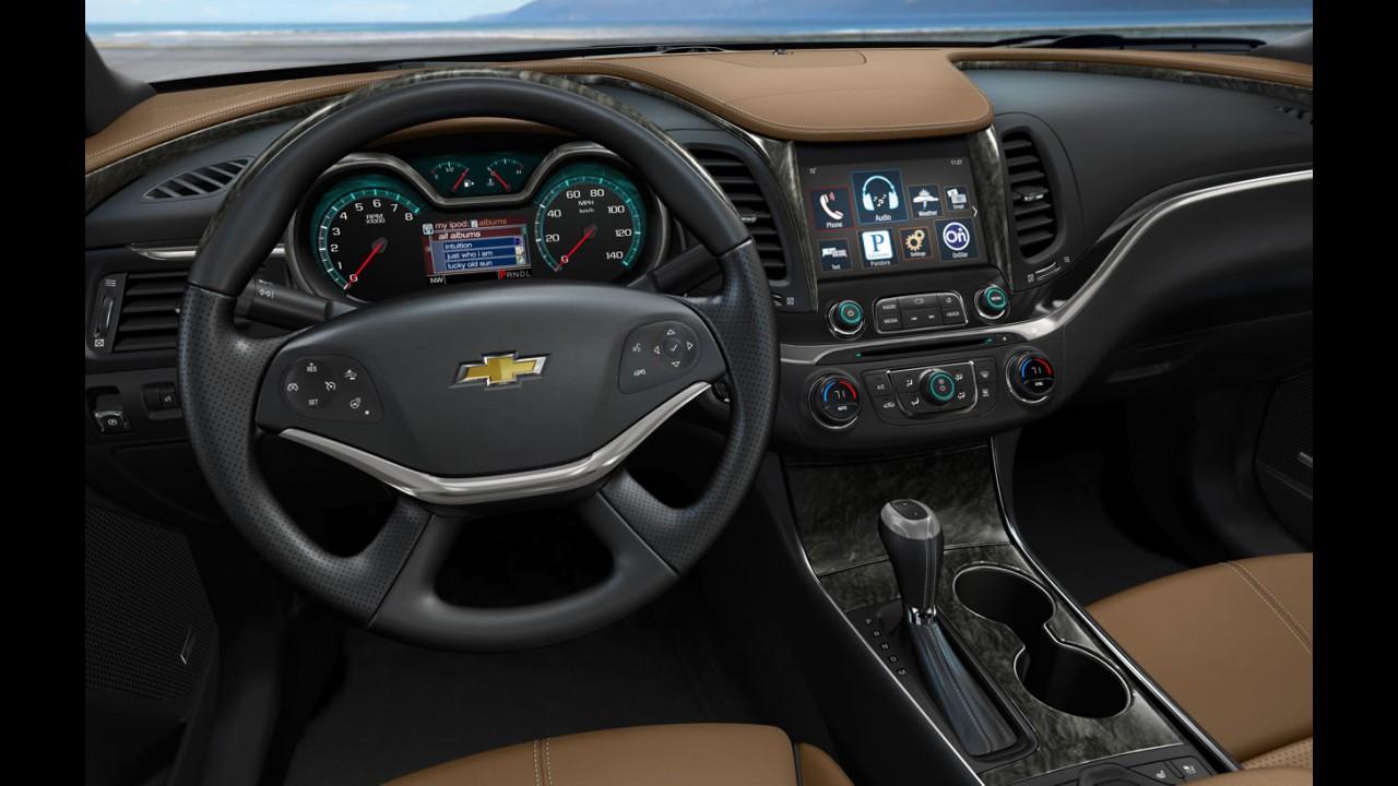 Coreia: Chevrolet escala Impala para brigar com Azera e Cadenza