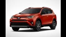 Toyota RAV4 2016 aparece de cara nova em Nova York - veja fotos