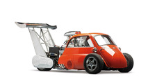 SPECIAL: 1959 BMW Isetta Whatta Drag with 730 hp Chevrolet V8 engine