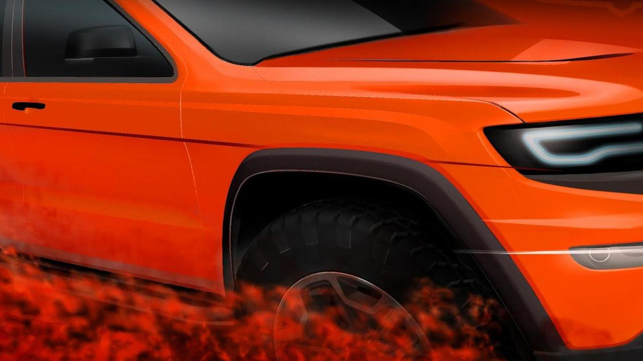 Jeep Grand Cherokee Trailhawk II concept