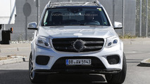 2016 Mercedes-Benz GLS spy photo