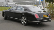 2016 Bentley Mulsanne facelift spy photo