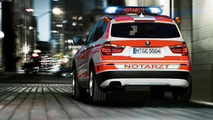 BMW X3 xDrive20d as a paramedic vehicle