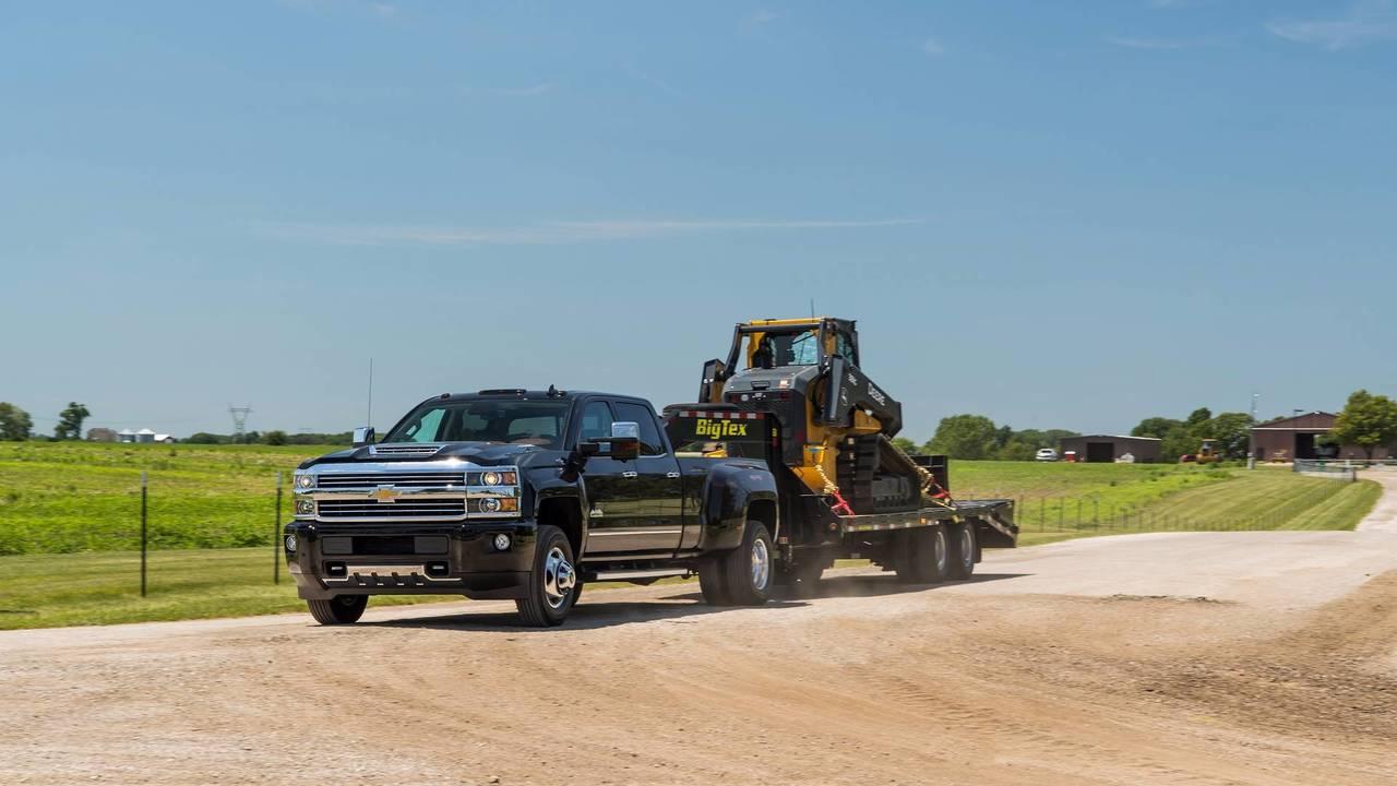 6. Chevrolet Silverado 3500 High Country 4WD Crew Cab: $60,005-$71,940