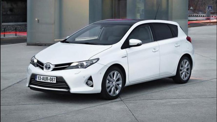 Nuova Toyota Auris, i prezzi