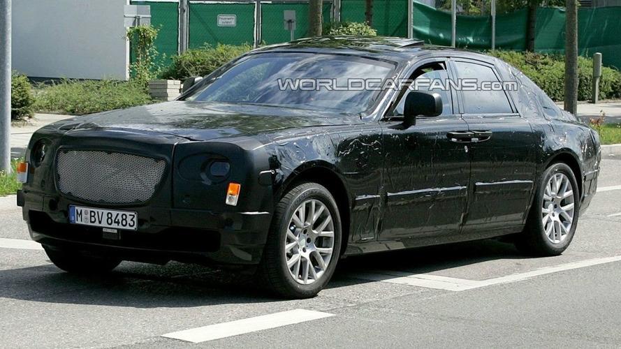 Spied Rolls Royce RR4 Begins to Reveal Shape