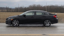 Honda Civic Si Sedan Spy Photos