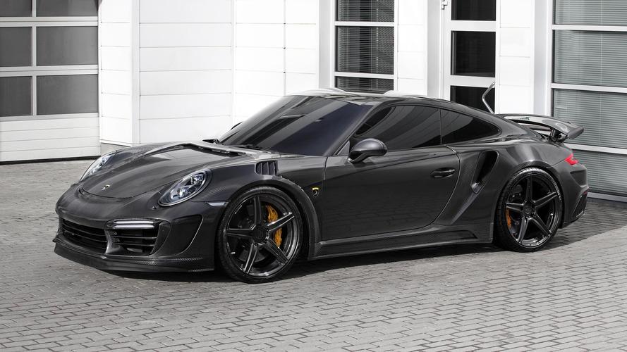 Tuner Gives Porsche 911 Turbo Carbon Fibre Body, 650 HP