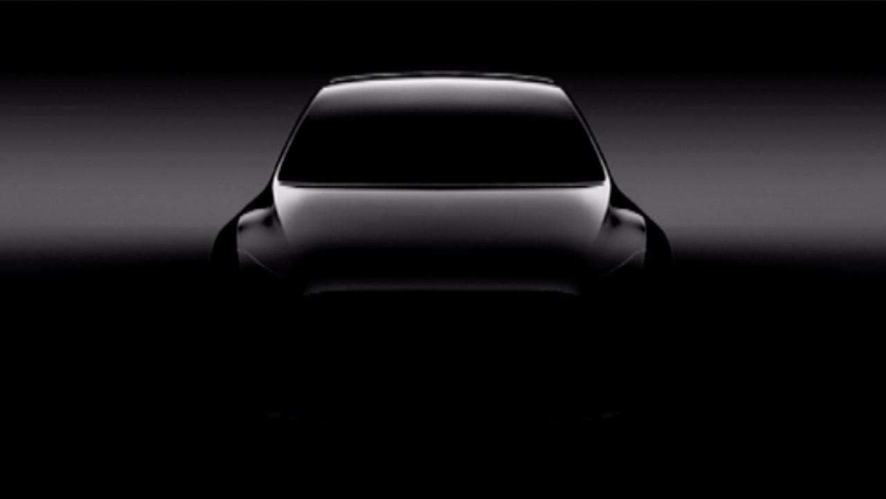 Teaser do Tesla Model Y